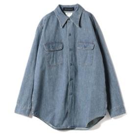 MADISONBLUE / HAMPTON Denim Shirts レディース カジュアルシャツ BLUE 01