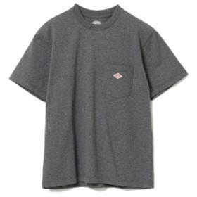 【WEB限定】DANTON / ポケット Tシャツ レディース Tシャツ H.CHARCOAL 36
