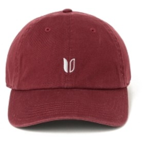 LINKSOUL / SMALL LOGO キャップ メンズ キャップ WINE ONE SIZE