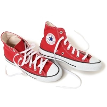 CONVERSE / ALL STAR HI レディース スニーカー M9621 RED 5H