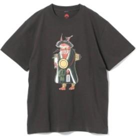 大津絵の店 × BEAMS JAPAN / 別注 大津絵 Tシャツ メンズ Tシャツ 墨 S