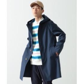 Traditional Weatherwear × BEAMS / 別注 クリストン コート メンズ ステンカラーコート INDIGO 40