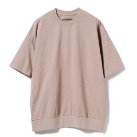 HEAVYWEIGHT COLLECTIONS × BEAMS T / 別注 Rib Tee メンズ Tシャツ BEIGE M
