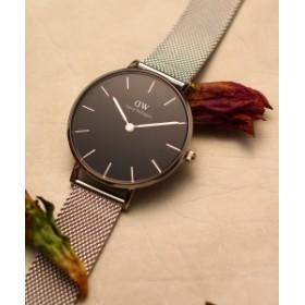 DANIEL WELLINGTON / CLASSIC PETITE 32mm シルバー レディース 腕時計 BLACK 32mm