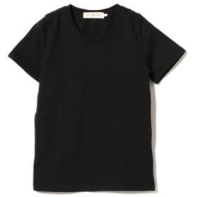 Ray BEAMS / コットン 天竺 クルーネック T レディース Tシャツ BLACK 0