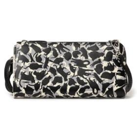【しょこたん着用】mmts / 猫カモフラージュ お財布バッグ レディース 財布 ブラック ONE SIZE