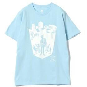 別府 BEAMS JAPAN / 湯美ちゃん Tシャツ メンズ Tシャツ LT. BLUE M