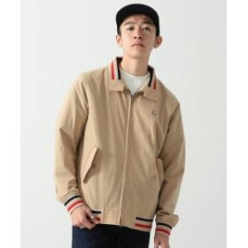 FRED PERRY × BEAMS / 別注 ハリントン ジャケット メンズ ブルゾン BEIGE S