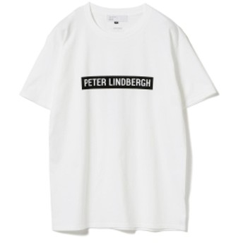International Gallery BEAMS IG x Peter Lindbergh / BOXロゴ Tシャツ メンズ Tシャツ WHITE XL