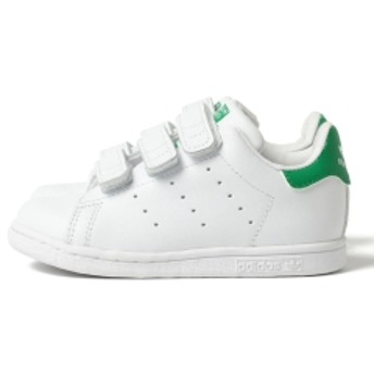 adidas / オリジナルス スタンスミス ベルクロ CF I 【12.0~16.5cm】 キッズ スニーカー ランニングホワイト/グリーン 16