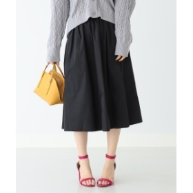 B:MING by BEAMS / リバーシブル タフタスカート 19SS レディース 膝丈スカート BLACK M