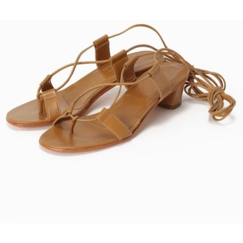 L'Appartement ◇MARTINIANO race up sandal ブラウン 38