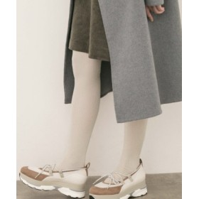 POP UP SHOP(ポップアップショップ) ルーム&インナー ソックス 靴下屋 3×1リブセパレートタイツソックス