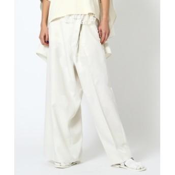 maturely / YIN-YANG Dot Joint Pants レディース カジュアルパンツ IVORY ONE SIZE