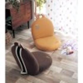 【4月10日まで大型商品送料無料】チップ&デールのモチーフ付き座椅子