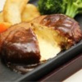 レンジ対応 とろけるチーズハンバーグ