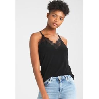 ヴェロモーダ ベスト アウター レディース【Vero Moda VMMILLA - Top - black beauty】black beauty