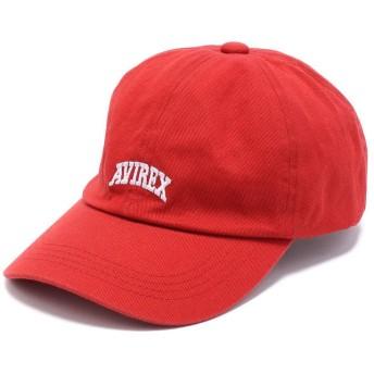 アヴィレックス ワンポイント ロウ キャップ/ONE POINT LOW CAP メンズ RED F 【AVIREX】