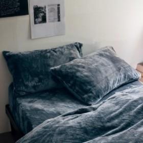 とろけるような枕カバー2枚セット