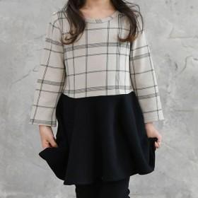 ワンピース - 子供服Bee ◇kys-a 長袖ワンピース【裏起毛】◇