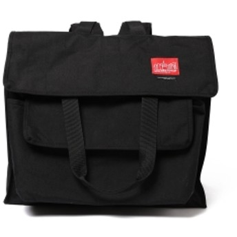 Pilgrim Surf+Supply Manhattan Portage x ENGINEERED GARMENTS for Pilgrim Surf+Supply / Transit Tote Backpack メンズ リュック・バックパック BLACK ONE SIZE