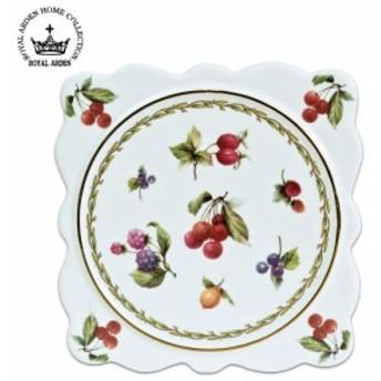ロイヤルアーデン 陶器シリーズ パンマット(鍋敷) フルーツL 37438