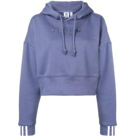 Adidas Coeeze クロップド パーカー - ブルー