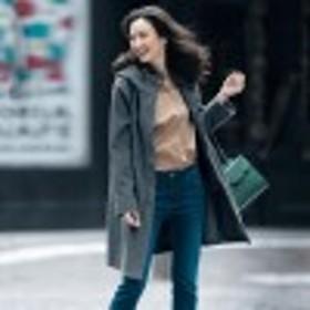 軽く羽織れて快適機能・伸びる!防風フリースフードコート【透湿・防風】