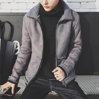 ★この季節に大活躍 大人の魅力★秋冬人気商品 メンズ ダウンジャケット コート 裏起毛 アウター 流行