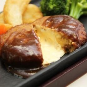 【夕ごはん・お弁当ストック】 とろけるチーズハンバーグ 10個/20個(レンジで簡単)