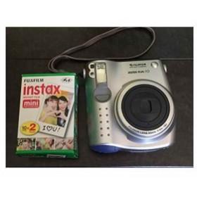 FUJIFILM Instax mini 10 チェキ 初代 インスタントカメラ インスタックス ミニ[instax mini 10](シルバー)