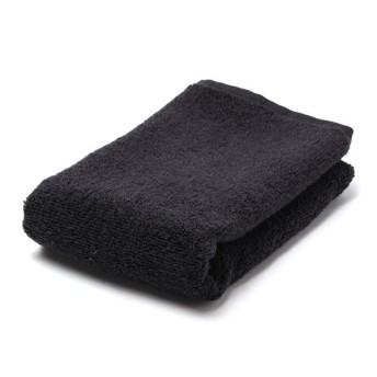 【HOME COORDY】とてもやわらか ハンドタオル ブラック 34x35cm