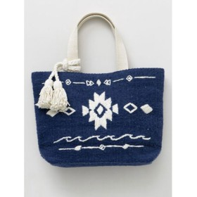Kahiko オルテガ柄刺繍トートバッグ