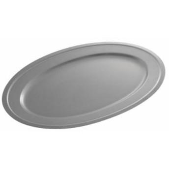 国産 食器 熟練職人が創る ヴィンテージ ステンレス 楕円 皿 今までにない斬新な風合いが特徴の特殊加工 | 196×136mm
