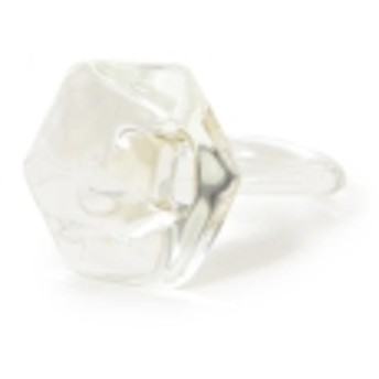 maturely / Glass Ring レディース リング CLEAR ONE SIZE