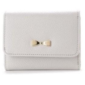 コムサイズム COMME CA ISM MONO3つ折りコンパクト財布 (ホワイト)