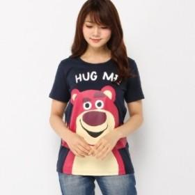 Disney ディズニー ハグミープリントTシャツ レディース