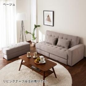 【4月10日まで大型商品送料無料】収納スペース付きソファーベッド