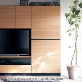 まるで造り付け家具のような壁面キャビネット