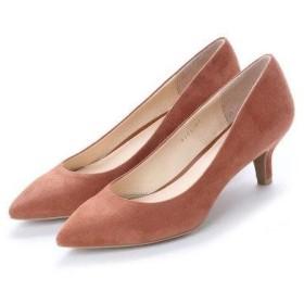 アンタイトル シューズ UNTITLED shoes パンプス (ライトブラウンスエード)