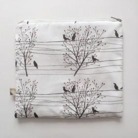 sale!電線と鳥のポーチ