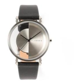 KLASSE14 / Imperfect Arch Metal 3針ウォッチ メンズ 腕時計 SILVER 32mm