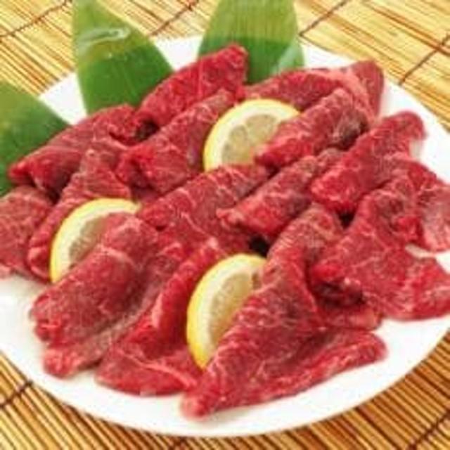 宗谷黒牛の焼肉用やわらかモモ肉 500g