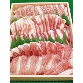 阿波市産豚肉 しゃぶしゃぶセット 約900g (ロース約450g・バラ約450g)