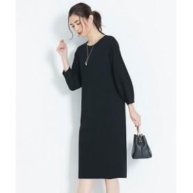 【SALE(伊勢丹)】<自由区> DOUBLE CLOTH ニットワンピース(OPWMYW0104) クロ 【三越・伊勢丹/公式】