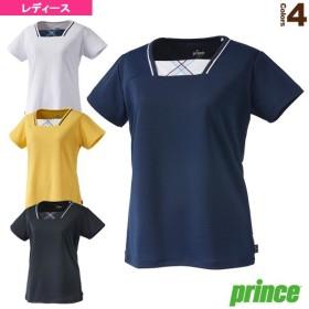 プリンス テニス・バドミントンウェア(レディース)  ゲームシャツ/レディース(WL9054)