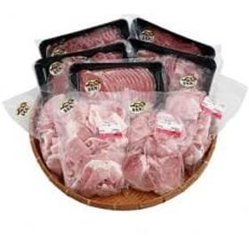 【農場直送】千葉県産三元豚 元気豚 精肉セット 3kg