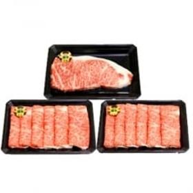 5等級鹿児島黒牛サーロインステーキ200g×6パック・すきやきセット A14(O-201)