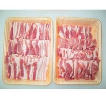 あんなか産「上州豚とことん焼肉セット」計1.2kg
