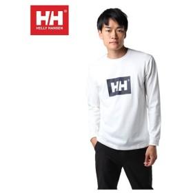 ヘリーハンセン HELLY HANSEN Tシャツ 長袖 メンズ ロングスリーブHHロゴティー HE31869 od
